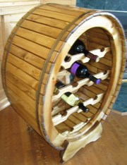 Unique solid wood Wine Rack